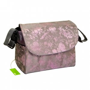 Multi Function Diaper Bag / Backpack - Silver/Pink