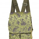 Green/Purple Flower & Birds-I Frogee Diaper Back Packs