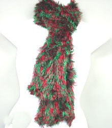 Red Green Blend Magic Scarf