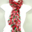 Red Green  White blended Magic Scarf