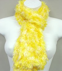 Yellow White Blend Magic Scarf