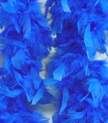 Blue Feather Boa