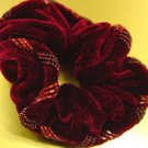 red Velvet Beaded Scrunchy 1HA3002799