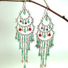 Colorful Exquisite Beads Dangle Earrings 1E001MP23