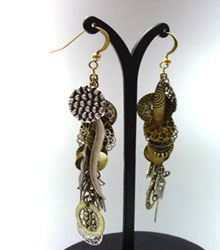 Antique Multi Dangle Charms Earrings 1E1252502