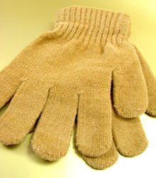 Camel Chenille Fashion Glove 1GLOVE466C