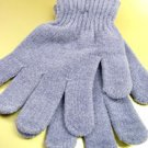 Light Grey Chenille Fashion Glove 1GLOVE466C