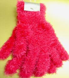 Hot Pink Soft Elastic Magic Glove  1GLOVE4338