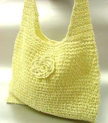 Creme Metallic Weave HoBo Satchel Bag  Handbag
