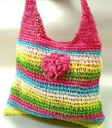 Multi Metallic Weave HoBo Satchel Bag  Handbag