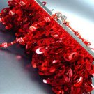 Red Confetti Sequins Cha Cha Bag Handbag 14008698
