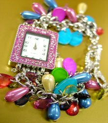 Multi Pearls Beads Shells Cha Cha Watch