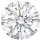 2.50-Carat Round Diamond (VS-2, H)