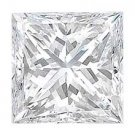 2.20-Carat Princess-Cut Diamond (VS-1, G)