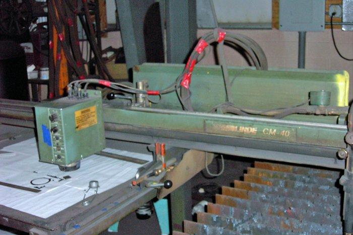 Flame Cutting Machine Linde 48-60 Eye Burner