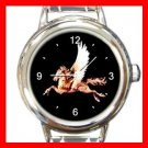Carousel Horse Italian Charm Wrist Watch 003