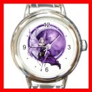 Purple Moon Fairy Fantasy Italian Charm Wrist Watch 008