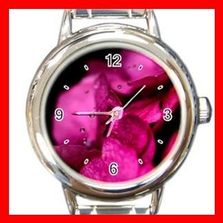 Pink Fresh Petals Italian Charm Wrist Watch 009
