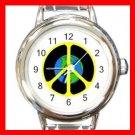 Peace on Earth Italian Charm Wrist Watch 010