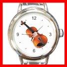 Violin Music Italian Charm Wrist Watch 014