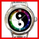 Yin Yang Chinese Italian Charm Wrist Watch 024