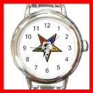 Order of the Eastern Star Italian Charm Wrist Watch 028