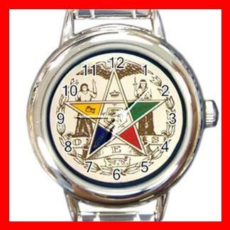 Order of the Eastern Star Italian Charm Wrist Watch 029