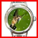 Humming Bird Italian Charm Wrist Watch 033