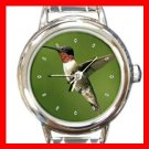 Humming Bird Italian Charm Wrist Watch 034