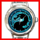 Blue Dragon Myth Italian Charm Wrist Watch 039