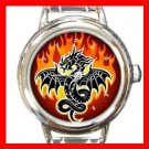 Fire Dragon Myth Italian Charm Wrist Watch 040