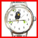 3D Bird Hobby Italian Charm Wrist Watch 041