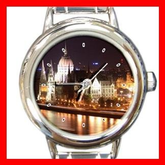Budapest City Hobby Italian Charm Wrist Watch 044