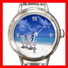 Sea Scenery Hobby Italian Charm Wrist Watch 045