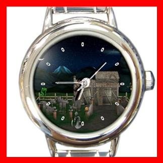 Haunted Halloween Italian Charm Wrist Watch 054