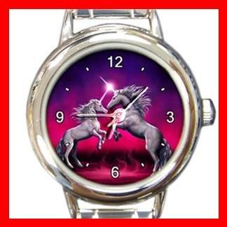 Unicorn Dance Myth Fantasy Italian Charm Wrist Watch 063