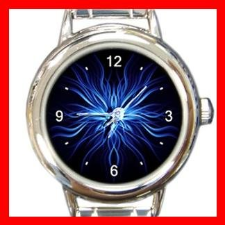 Weird Blue Hobby Italian Charm Wrist Watch 069