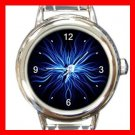 Weird Blue Hobby Italian Charm Wrist Watch 069