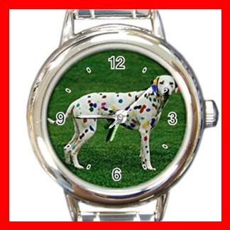 Dalmatian Dog Pet Animal Italian Charm Wrist Watch 070