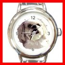 Lhasa Apso Dog Pet Italian Charm Wrist Watch 077