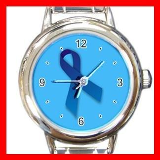 Blue Ribbon Italian Charm Wrist Watch 081