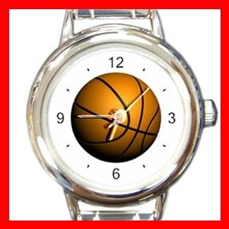 Basketball Sport Game Italian Charm Wrist Watch 082