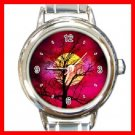 Sunset Tree Nature Italian Charm Wrist Watch 089