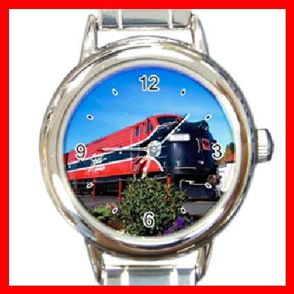 Train Hobby Italian Charm Wrist Watch 091