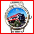 Train Hobby Italian Charm Wrist Watch 091