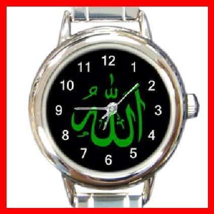 Allah Green Italian Charm Wrist Watch 098