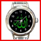 Allah Green Italian Charm Wrist Watch 098