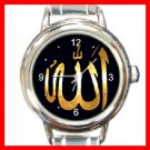 Allah Golden Italian Charm Wrist Watch 099