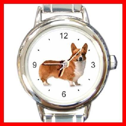 Welsh Corgi Dog Pet Animal Italian Charm Wrist Watch 106