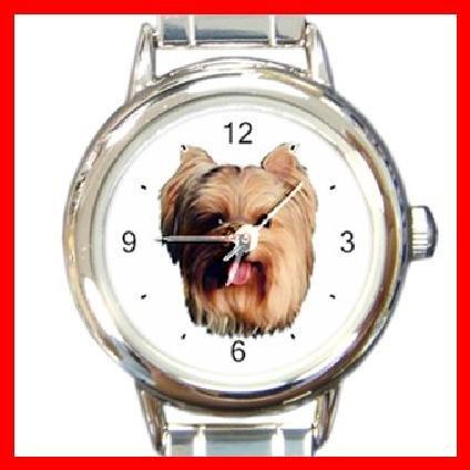 Yorkshire Terrier Dog Pet Animal Italian Charm Wrist Watch 109